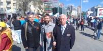 Первомайская демонстрация в Рязани