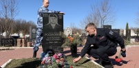 Сотрудники ОМОН управления Росгвардии по Рязанской области почтили память своих сослуживцев