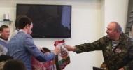 Подарок воспитанникам «Патриота» из средств Президентского гранта