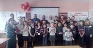 Рязанские активисты ОНФ провели «урок мужества» в Троицкой сельской школе